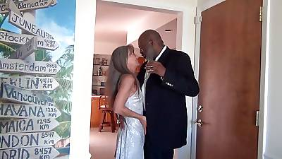 After Party Making out be fitting of Milf and BBC