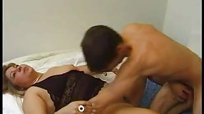 Young guy cums to soon as a result she masturbates