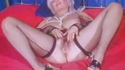 Chunky Tittied Grandma Bon-bons Samples Masturbates