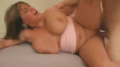 Old Fat British Wife Fucks Young Dicks