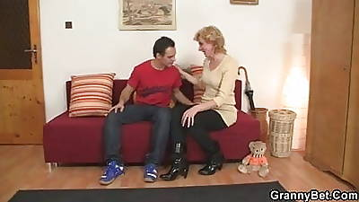 He bringing her home to vet her naughty pussy
