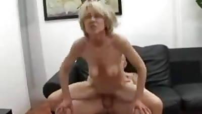 Starved Granny Threesome Fun