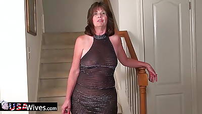 USAWives mature lady Jade exclusively ill-use