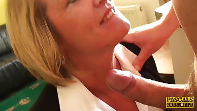 PASCALSSUBSLUTS - Busty MILF Amy driven by Pascal White