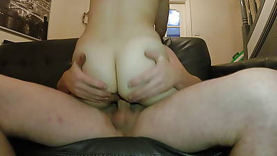 Wife riding my dick