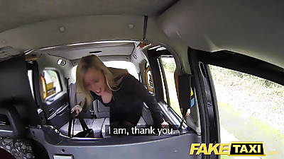Fake Taxi Great Bristols X MILF approximately black lingerie