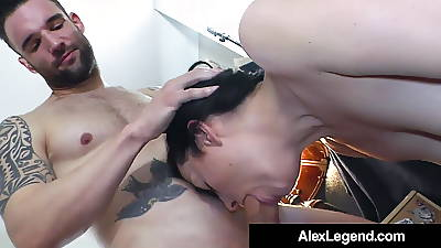 Fat Cock Alex Legend Bangs Smoking Circlet Syre!