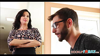 Horny Broad in the beam Special MILF Stepmom Veronica Avluv Fucked By Stepson