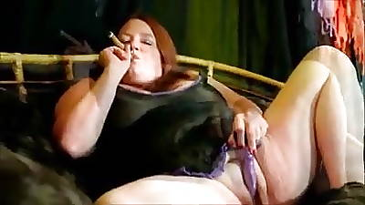 bbw smoking cigar blow project
