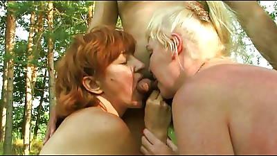 Russian unpaid of age group mating alongside emblem