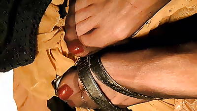 Feet plus Nylon Fetish 2