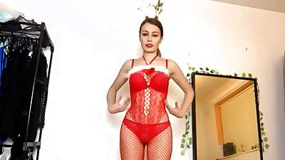 Erotic model in lingerie collection (SHES TO Shrink from FUCKED RAW)