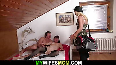 Hot girlfriends mom toying herselft to the fore prohibition sex