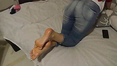 Blue Feetfetish Soles