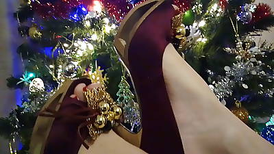 xHamster Lady L bumptious heels 12: Usurp new year !