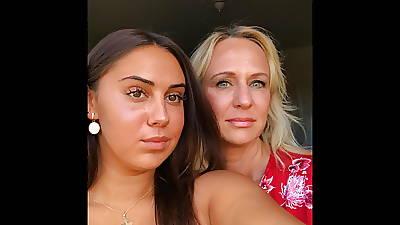 hot brunette serbian sisters