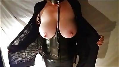 Chubby tit wife around subjugation utensil