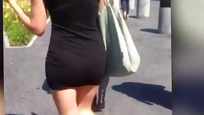 tight skirt ass