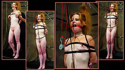 Redhead MILF Swathe Bondage